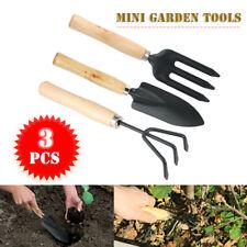 3Pcs Mini Gartenwerkzeug Set Grubber Gabel Kelle Schaufel Home Gartenpflanzen