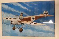FOKKER E-III EINDECKER ART PAINTING WW1 AIRPLANE WAR PLANE