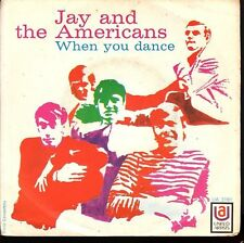 """12380  JAY AND THE AMERICANS - """"WHEN YOU DANCE"""""""