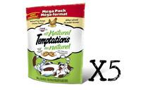 WHISKAS Temptations Cat Treats - ALL NATURAL CHICKEN 160g X 5 Package Canadian