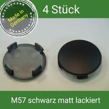 M57 schwarz matt  Nabenkappen  Felgendeckel  56 mm BMW , Brock , RC  4 St.