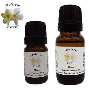 Rose Essential Oil Pure Rose Damascena Therapeutic Aromatherapy