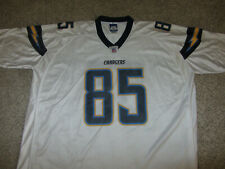 Antonio Gates #85 NFL Football Jersey San Diego Chargers Reebok Jersey 4XL White