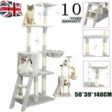 More details for high cat tree climbing tower kitten scratcher scratching post activity centre uk