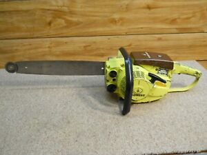 Vintage Pioneer Chainsaw Model 2071 with 16inch bar