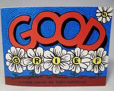 GOOD GRIEF Mini Comic Book by Toby Costello Overcoming Grief 2010