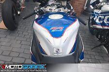 BMW S1000RR 2017 Motorsport Motorcycle Tank Pad Motografix 3D Gel Protector