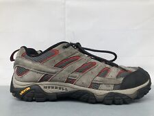 Merrell Moab 2 Ventilator Low Gray Suede Hiking Shoes Men's Size 12