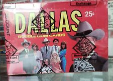 1981 Dallas TV Show 36 Pack Unopened Non-Sports Trading Cards Wax Box BBCE