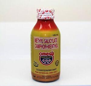 1x Omega Pain Killer Liniment 120 ml Bottle