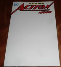 ACTION COMICS #1000 NM  BLANK SKETCH VARIANT (2018.DC) 80 pg giant.