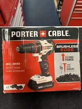 PORTER CABLE ( PCC6080LB ) 20 V MAX LITHIUM-ION CORDLESS COMPACT BRUSHLESS DRILL
