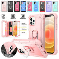 Shockproof Heavy Duty Stand Case Cover For Apple Phone 11 12 /12 Pro /12 Pro Max