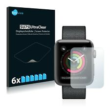 6x Apple Watch Series 2 (42 mm) Clear Screen Protector Display Film