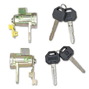 For Isuzu Holden D-Max Pickup 03 04 06 Lh Rh Door Lock Cylinder Key Silver
