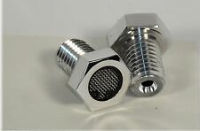 HARLEY BREATHER BOLTS FOR XL SPORTSTERS POLISHED 6061 CHOPPER BOBBER MADE IN US