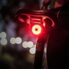 Smart Brake Sensor Bicycle LED Bike Rear Light Riding Auto Start Warning Lamp