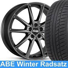 "18"" ABE Advanti Centurio Winterradsatz 225/40 Reifen für Audi A4 Avant 8E etc."