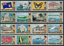 1976 GILBERT ISLANDS NEW DEFINITIVES SET OF 16 MINT MLH
