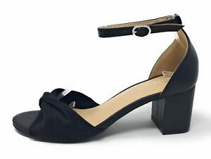 CL By Chinese Laundry Womens Jill Dress Sandal Black Suede Size 7 M