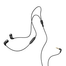 AIAIAI Pipe Earphones One Button Mic Black NEW + FREE 2DAY SHIPPING!