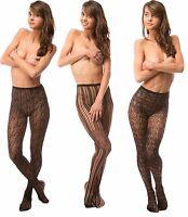Fashion Women's Sexy Fishnet Pattern Pantyhose Tights Punk Stockings US SELLER