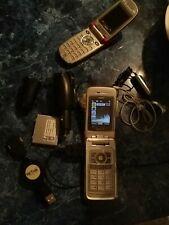 Sanyo Katana Dlx 8500 - Ice (Sprint) Phone + Free User Locked Sanyo 8200