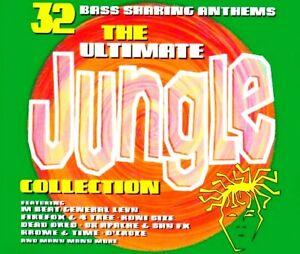 THE ULTIMATE JUNGLE COLLECTION - 2 CDS 32 UNMIXED TRACKS OLDSKOOL D&B CDJ CD DJ