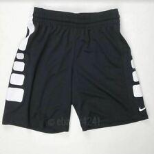 Nike Boys Youth Medium Elite Basketball Athletic Shorts Black 872387