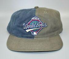 Vintage 1996 MLB World Series Logo Twins Enterprise Strapback Cap Hat - NWT