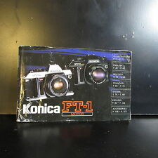 Used Konica FT-1 Motor Camera Owners Guide Manual O401620