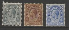 TURKS & CAICOS SELECTION OF 3 STAMPS MNH
