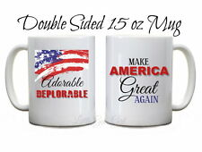 Adorable Deplorable Funny Trump Coffee Mug Make America Great Again Coffee Cup