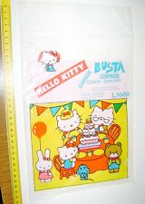 HELLO KITTY 80s Sanrio Italy vintage rare surprise bag empty - busta sorpresa