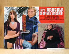 1972 DRACULA COLPISCE ANCORA fotobusta poster Horror Christopher Lee Cushing D20