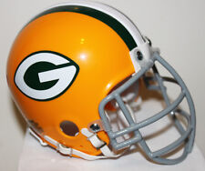 1960 - 1968 Jerry Kramer Green Bay Packers Custom Throwback Riddell Mini Helmet