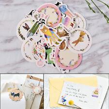 45pcs/lot DIY Cute Kawaii Cat Rabbit Fox Sticker Lovely Animal Diary Sticker aBc