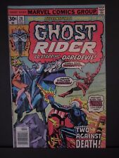 Ghost Rider #20 Oct 1976 co-starring Daredevil! marvel comic, F+