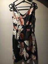 Ojay Sleeveless Floral Dress (size 6) - Excellent Condition!