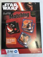 """Star Wars Battle Matching Memory & Strategy Game Disney 2015 """"The Force Awakens"""""""