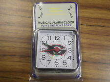 NIP AWESOME NCAA GEORGIA BULLDOGS  MINI SINGING TRAVEL ALARM CLOCK