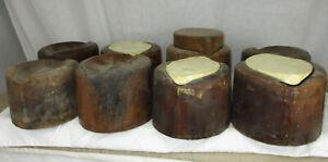 """Vintage """"Diamond"""" Shaped Hat Block Set"""