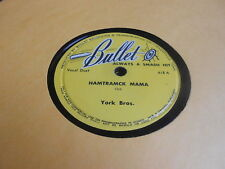 York Bros COUNTRY 78 Hamtramck Mama / My Tears Will Never Make You Change