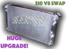 The BEST - 1982 - 2002 Chevy S10 V8 Swap Truck Aluminum Radiator - FREE SHIPPING