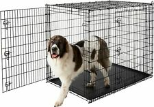 """PICK UP ONLY Big Dog Crate Cage Double Door 54""""L37""""W45""""H Heavy Duty Pick Up Only"""