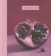 Recipe Journal: Pomegranate - Small (Hardback or Cased Book)