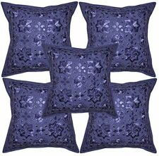 Embroidered Art Square Ethnic Decorative Cushions