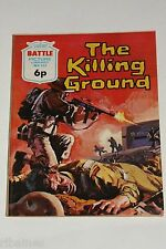 Battle Picture Library Comic, Number 642, The Killing Ground, British Pocket
