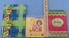 New Softcover Just Us Girls Book Amp Hardcover Journal Amp Spiral Note Book Lot Of 3