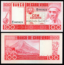 CAPE VERDE 100 ESCUDOS (P54a) 1977 UNC